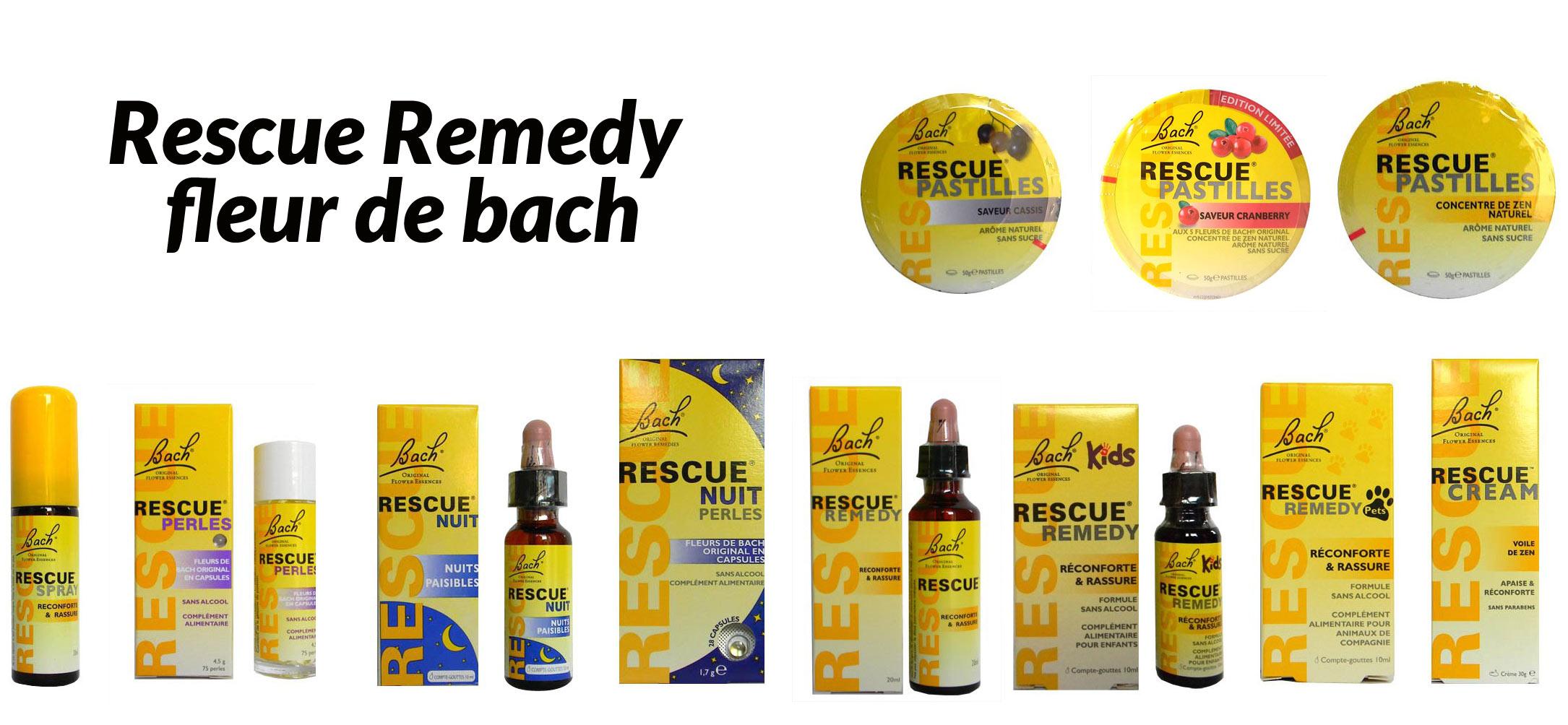 Rescue Fleur De Bach Achat Fleurs De Bach Rescue