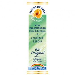 29 Fleur de bach Star of Bethleem en granules avec alcool Biofloral