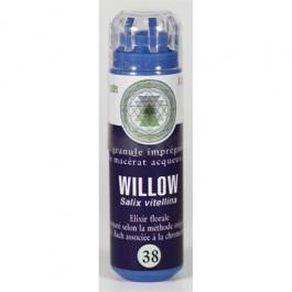 38 Fleur de bach Willow en granules sans alcool Eumadis