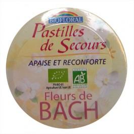 Pastilles de Secours bio Boite familiale 50g Biofloral