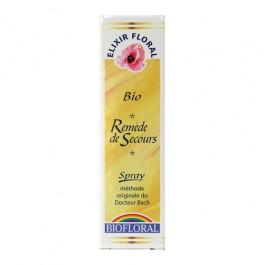 Remède de Secours  aux Feurs de Bach –  spray Biofloral