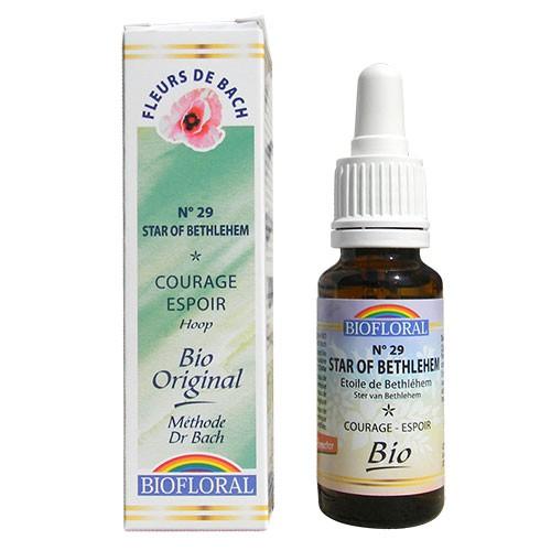 29 Fleur de bach Star of Bethleem en goutte avec alcool Biofloral