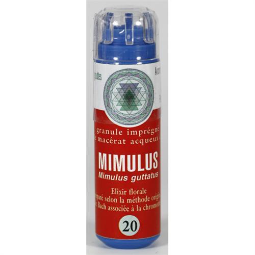 20 Fleur de bach Mimulus  en granules sans alcool Eumadis