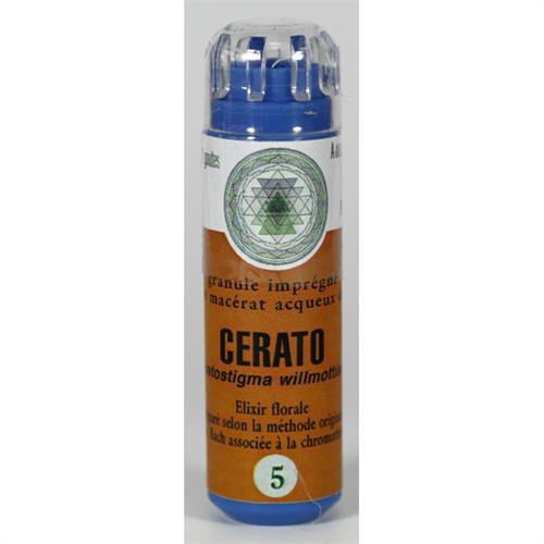 5 Fleur de bach Cerato en granules sans alcool Eumadis