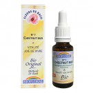7 Fleur de bach Chestnut Bud en goutte avec alcool Biofloral